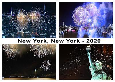 NYC Fireworks 7-2020