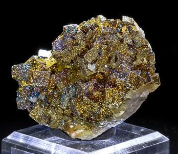 PyriteOnFluorite