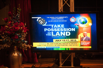 2016 25th National Convention - Bladensburg, MD