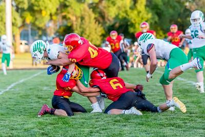 GFW Football vs Maple River-54