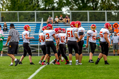 GFW JV Football vs Maple River-73