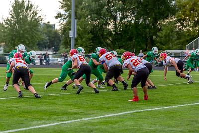 GFW JV Football vs Maple River-12
