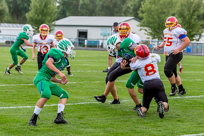 GFW JV Football vs Maple River-89