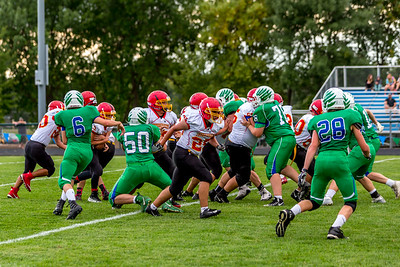 GFW JV Football vs Maple River-51