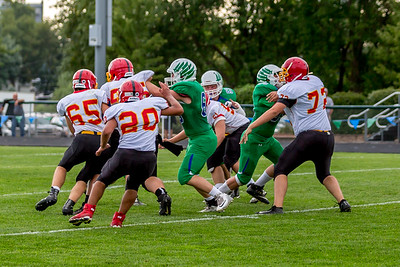 GFW JV Football vs Maple River-13