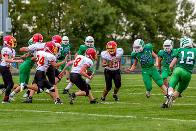 GFW JV Football vs Maple River-45