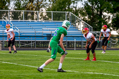 GFW JV Football vs Maple River-7