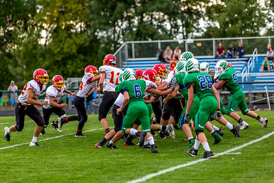 GFW JV Football vs Maple River-62