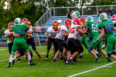 GFW JV Football vs Maple River-61