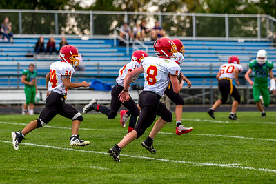 GFW JV Football vs Maple River-42
