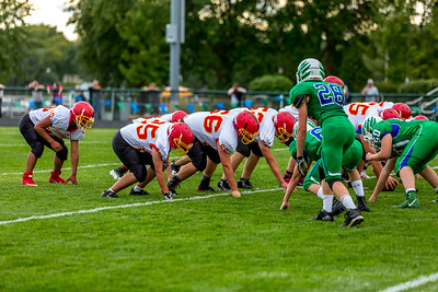 GFW JV Football vs Maple River-56