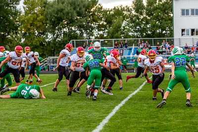 GFW JV Football vs Maple River-54