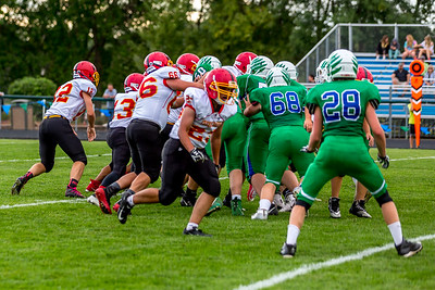 GFW JV Football vs Maple River-58