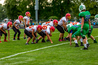 GFW JV Football vs Maple River-49