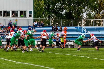 GFW JV Football vs Maple River-8