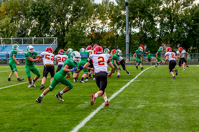 GFW JV Football vs Maple River-34