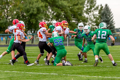 GFW JV Football vs Maple River-46