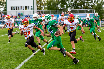 GFW JV Football vs Maple River-77