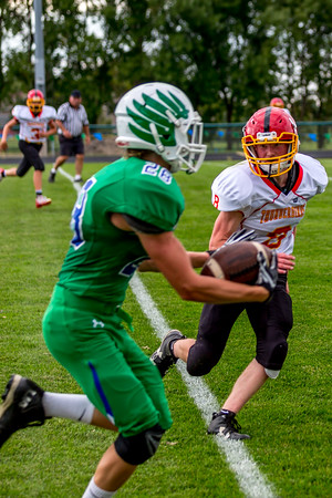 GFW JV Football vs Maple River-29