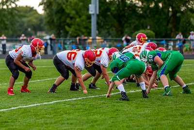 GFW JV Football vs Maple River-64