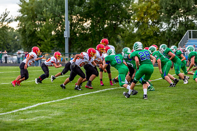 GFW JV Football vs Maple River-50