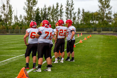 GFW JV Football vs Maple River-5