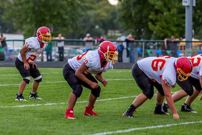 GFW JV Football vs Maple River-66