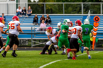 GFW JV Football vs Maple River-16