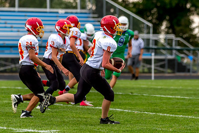 GFW JV Football vs Maple River-43