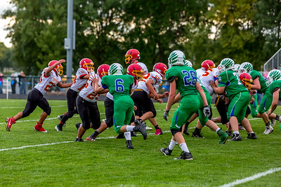 GFW JV Football vs Maple River-57