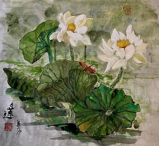 White Lotus at Echo Park
