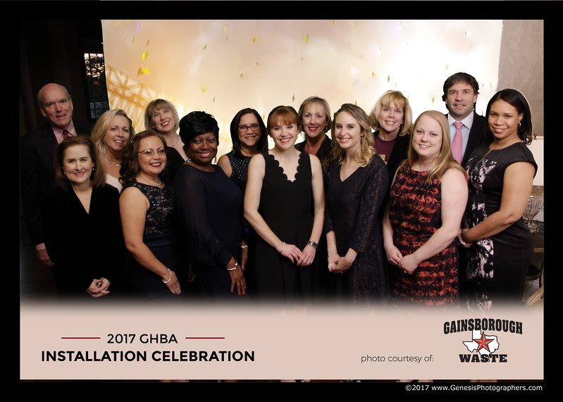 GHBA Installation and Celebration 2017