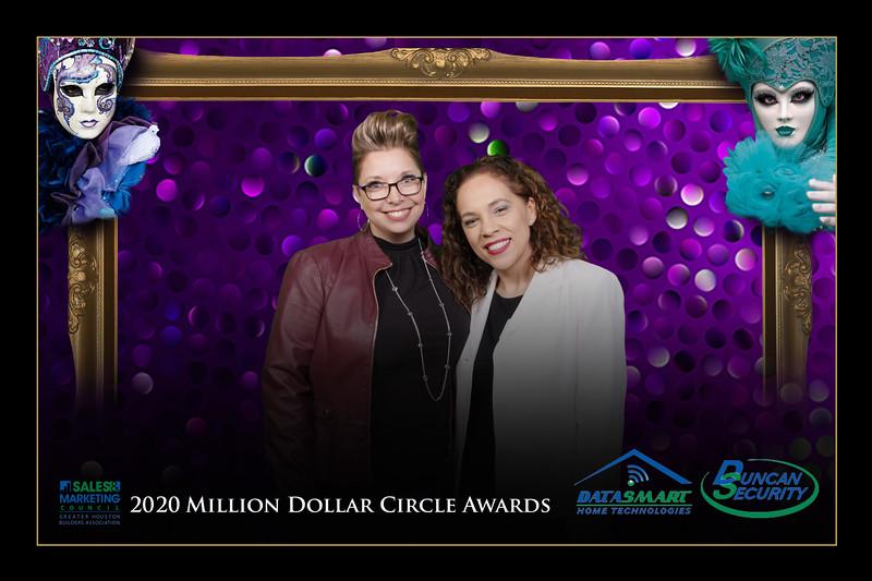 GHBA Million Dollar Circle 2020