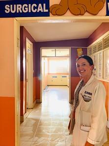 GHCE participant and MPH alum Megan Mayer in Naivasha, Kenya