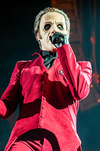 Swedish rock band Ghost lay Live in London at the Wembley SSE Arena
