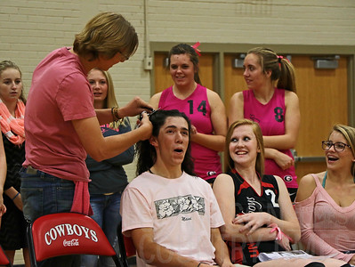 GHS Volleyball Pink Games