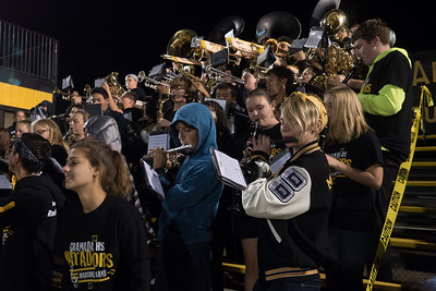 161109 GHS PEP BAND (NCS FOOTBALL)