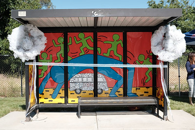 170601 GHS BUS SHELTER DEDICATION (PATTERSON PASS x VASCO) - LAURA THOURNIR, TEACHER