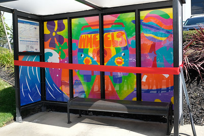 180601 GHS ART CLUB WHEELS BUS SHELTER PROJECT