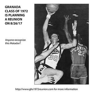 GHS REUNION - CLASS OF 1972