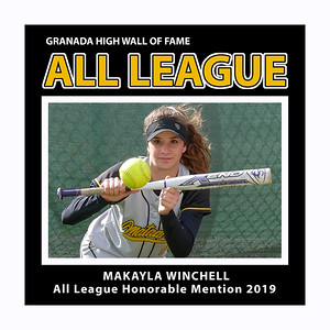 Winchell Makayla GHS Softball 2019 All League