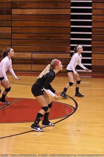 2012-09-13 JV Volleyball @ Northwestern HS