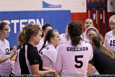 2012-09-13 Varsity Volleyball @ Northwestern HS