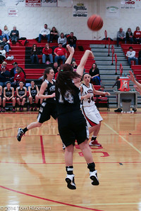GHS Lady Basketball Knights v Indian Lake