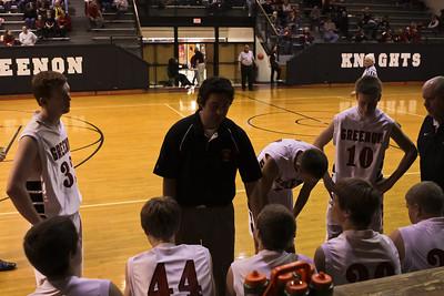 12-01-2012 GHS JV Boys Knights v Cedarville HS