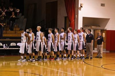 12-01-2012 GHS Varsity Boys Knights v Cedarville HS