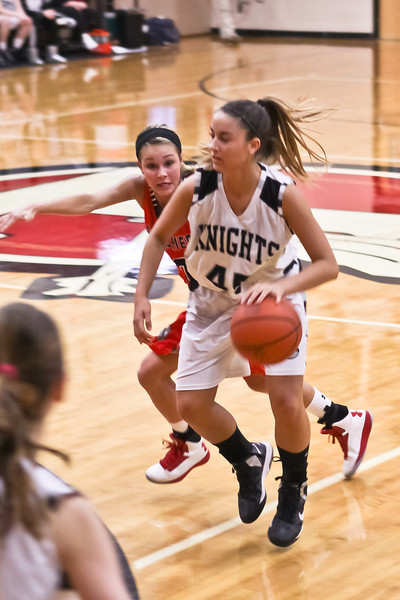 2013-02-19 GHS Lady Knights BB Sectionals v Bellefontaine