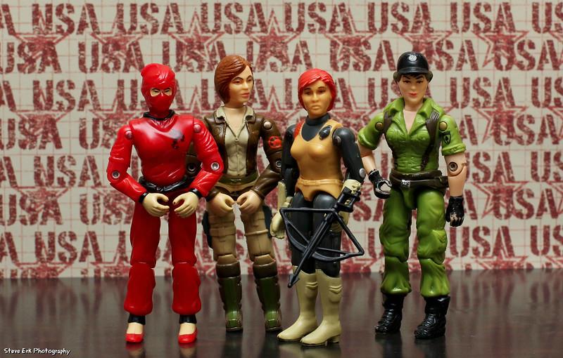 The Women of G.I. Joe