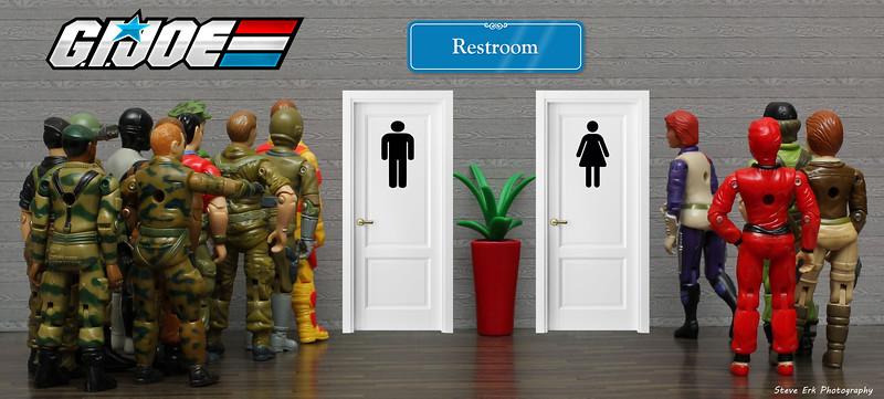 G.I. Joe bathroom