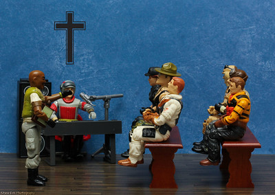 G.I. Joe Church Service